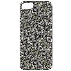 Silver Oriental Ornate  Apple Iphone 5 Classic Hardshell Case by dflcprints