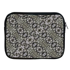 Silver Oriental Ornate  Apple Ipad 2/3/4 Zipper Cases by dflcprints