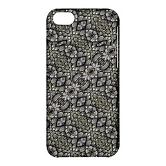 Silver Oriental Ornate  Apple Iphone 5c Hardshell Case by dflcprints