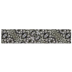 Silver Oriental Ornate Flano Scarf (small) by dflcprintsclothing