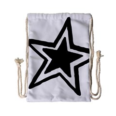 Double Star Drawstring Bag (small) by TRENDYcouture