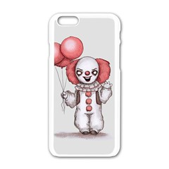 They All Float Apple Iphone 6/6s White Enamel Case by lvbart