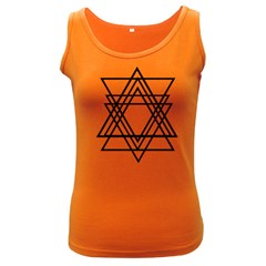 Triangles Women s Dark Tank Top by TRENDYcouture