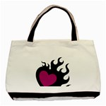Heartflame Basic Tote Bag (Two Sides)