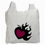 Heartflame Recycle Bag (One Side)