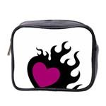 Heartflame Mini Toiletries Bag 2-Side