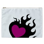Heartflame Cosmetic Bag (XXL)