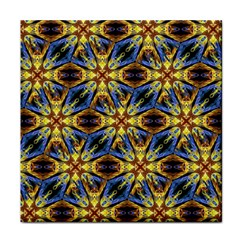 Vibrant Medieval Check Tile Coasters by dflcprints