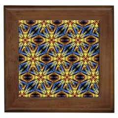 Vibrant Medieval Check Framed Tiles by dflcprints