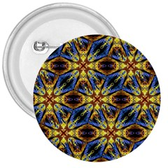 Vibrant Medieval Check 3  Buttons by dflcprints