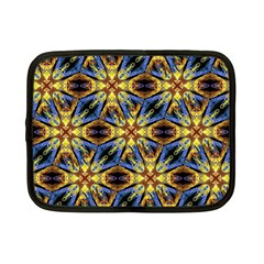 Vibrant Medieval Check Netbook Case (small)  by dflcprints
