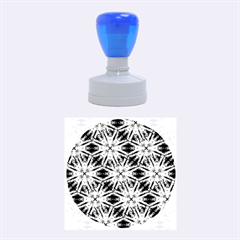 Vibrant Medieval Check Rubber Round Stamps (medium) by dflcprints