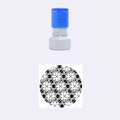 Vibrant Medieval Check Rubber Round Stamps (small) by dflcprints