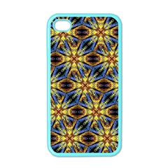 Vibrant Medieval Check Apple Iphone 4 Case (color) by dflcprints