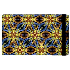 Vibrant Medieval Check Apple Ipad 2 Flip Case by dflcprints
