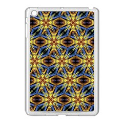 Vibrant Medieval Check Apple Ipad Mini Case (white) by dflcprints
