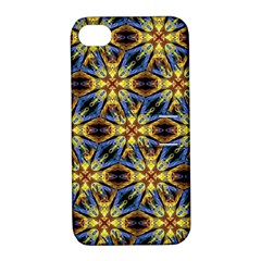 Vibrant Medieval Check Apple Iphone 4/4s Hardshell Case With Stand by dflcprints