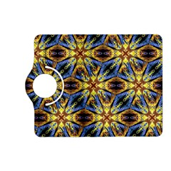 Vibrant Medieval Check Kindle Fire HD (2013) Flip 360 Case