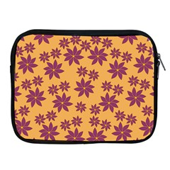 Purple And Yellow Flower Shower Apple Ipad 2/3/4 Zipper Cases by CircusValleyMall