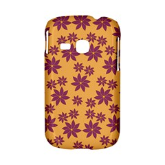 Purple And Yellow Flower Shower Samsung Galaxy S6310 Hardshell Case by CircusValleyMall