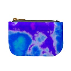 Purple And Blue Clouds Mini Coin Purses by TRENDYcouture