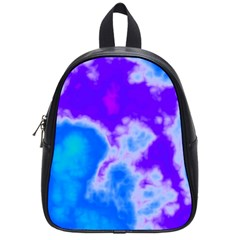 Purple And Blue Clouds School Bags (small)  by TRENDYcouture
