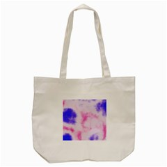 Pink N Purple Tote Bag (cream) by TRENDYcouture