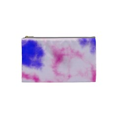 Pink N Purple Cosmetic Bag (small)  by TRENDYcouture