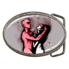 Come Play Belt Buckles by lvbart