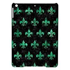 Royal1 Black Marble & Green Marble (r) Apple Ipad Air Hardshell Case by trendistuff