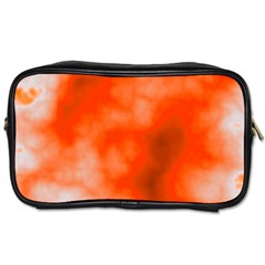 Orange Essence  Toiletries Bags 2 Side by TRENDYcouture