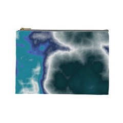 Oceanic Cosmetic Bag (large)  by TRENDYcouture