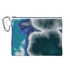 Oceanic Canvas Cosmetic Bag (l) by TRENDYcouture