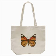 Butterfly Tote Bag (cream) by cocksoupart