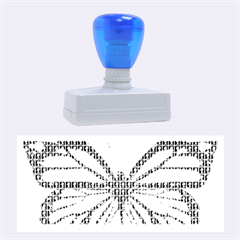 Butterfly Rubber Stamps (large)