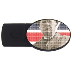 Churchill 1 Usb Flash Drive Oval (2 Gb)  by cocksoupart