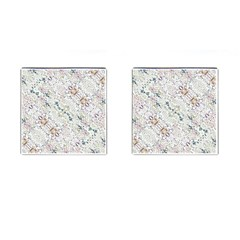Oriental Floral Ornate Cufflinks (square) by dflcprints