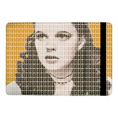 Over The Rainbow   Yellow Samsung Galaxy Tab Pro 10 1  Flip Case by cocksoupart