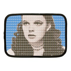 Over The Rainbow   Blue Netbook Case (medium)  by cocksoupart