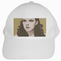 Over The Rainbow   Gold White Cap