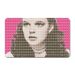 Over The Rainbow   Pink Magnet (rectangular) by cocksoupart