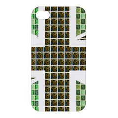 Green Flag Apple Iphone 4/4s Hardshell Case by cocksoupart