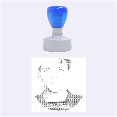 Sinatra Mug Shot Rubber Round Stamps (medium)