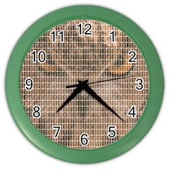 Owl Color Wall Clocks by cocksoupart