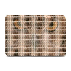 Owl Plate Mats by cocksoupart