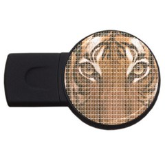 Tiger Tiger Usb Flash Drive Round (4 Gb)  by cocksoupart