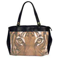Tiger Tiger Office Handbags (2 Sides)  by cocksoupart