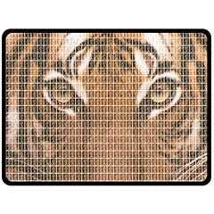 Tiger Tiger Double Sided Fleece Blanket (large)  by cocksoupart