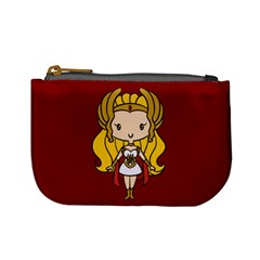 Princess of Power Coin Change Purse by Ellador