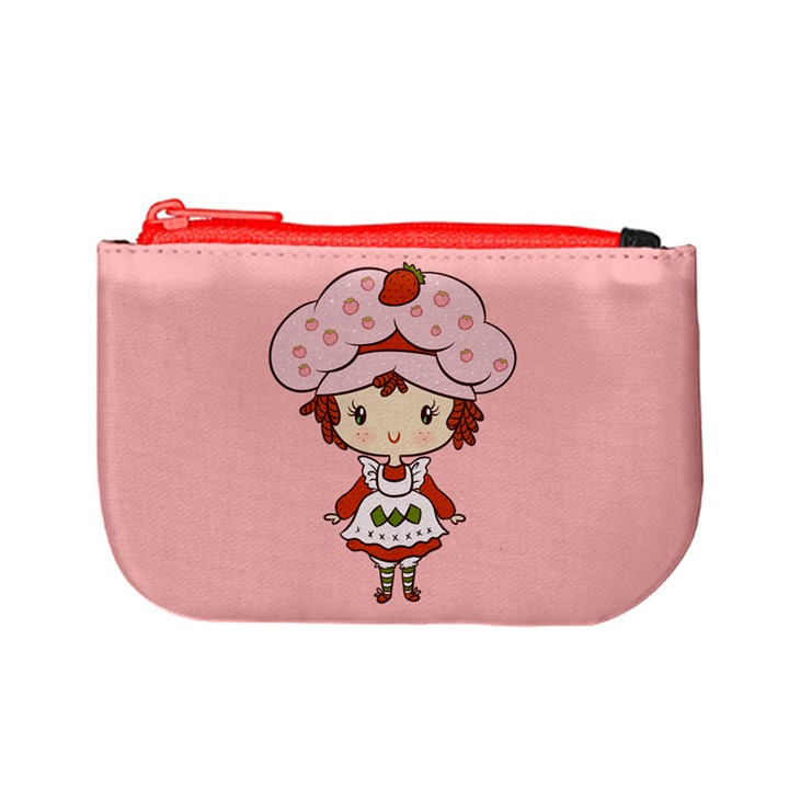 Berry Girl Coin Change Purse